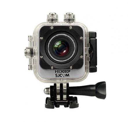 Outdoorová kamera SJCAM M10 CUBE športová kamera - strieborná