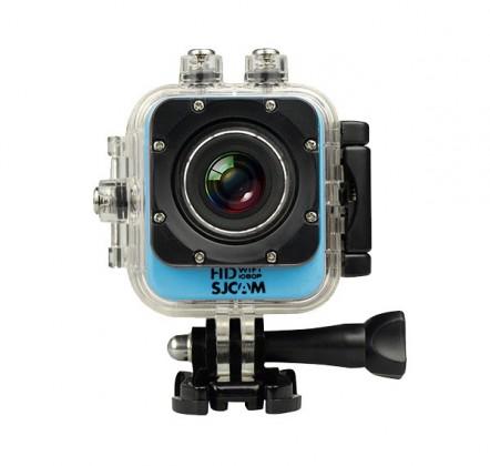 Outdoorová kamera SJCAM M10 CUBE WIFI športová kamera - modrá