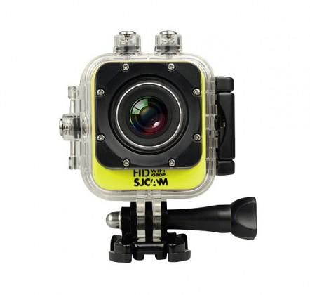 Outdoorová kamera SJCAM M10 CUBE WIFI športová kamera - žltá