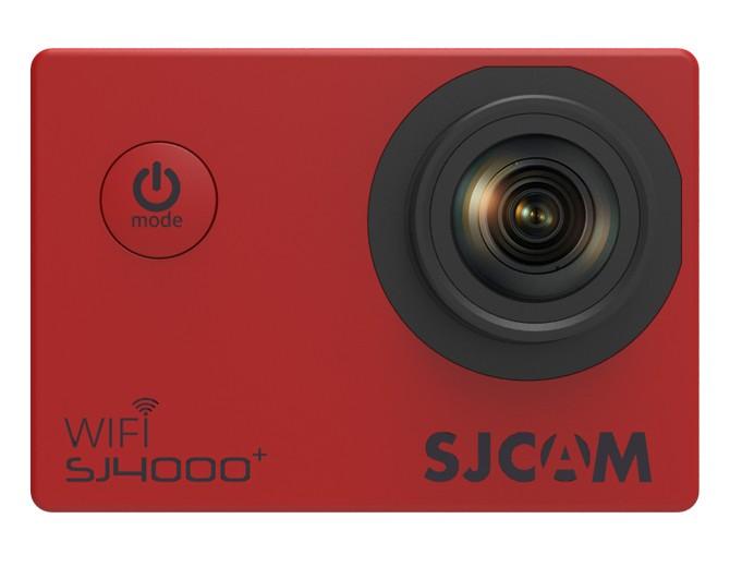 Outdoorová kamera SJCAM SJ4000 PLUS športová kamera - červená