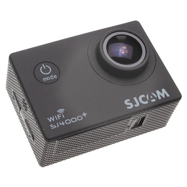 Outdoorová kamera SJCAM SJ4000 PLUS športová kamera - čierna