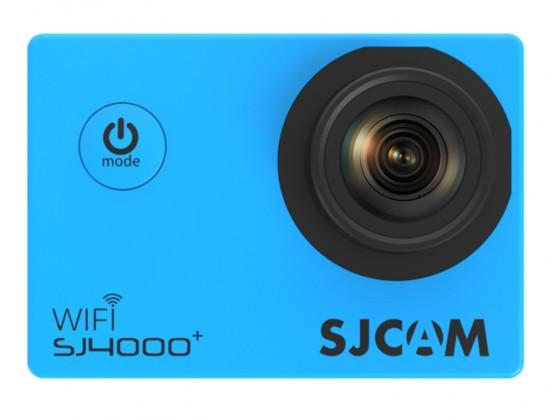 Outdoorová kamera SJCAM SJ4000 PLUS športová kamera - modrá