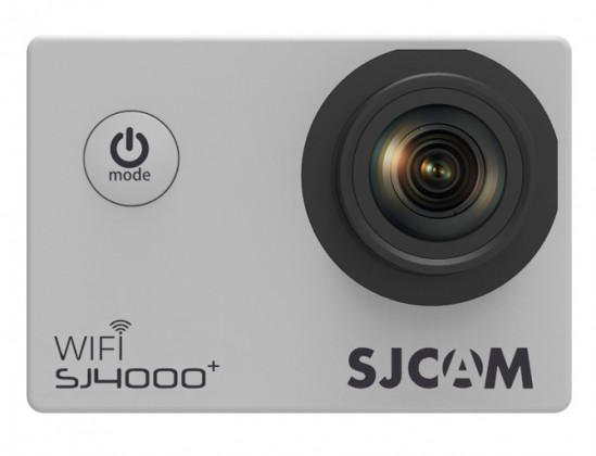 Outdoorová kamera SJCAM SJ4000 PLUS športová kamera - strieborná