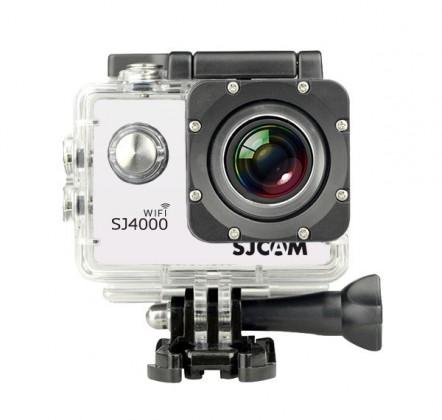 Outdoorová kamera SJCAM SJ4000 WIFI športová kamera - biela
