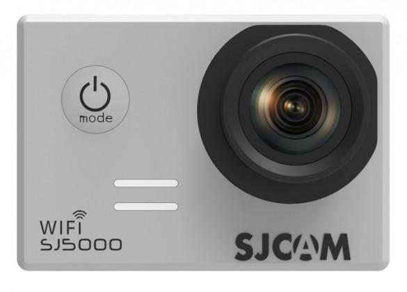 Outdoorová kamera SJCAM SJ5000 WIFI športová kamera - strieborná