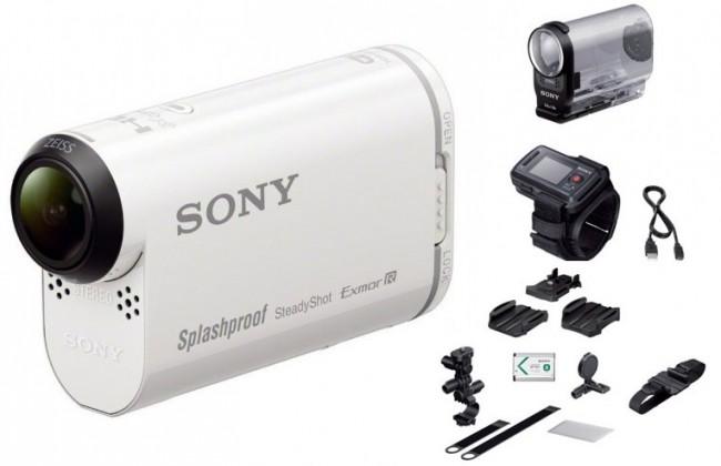 Outdoorová kamera SONY HDR-AS200VB+bike kit