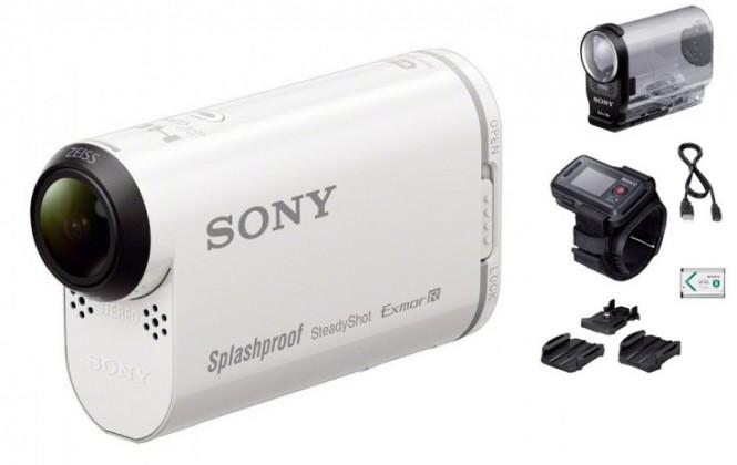 Outdoorová kamera SONY HDR-AS200VR+Remote Kit
