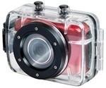 Outdoorová kamera Trevi GO 2200 HD červená ROZBALENO