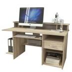 P4 - Kancelársky stôl (dub sonoma)