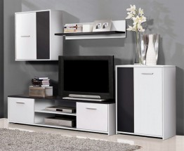 Paco PCOM02-V05(biela/čierna)