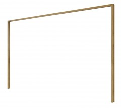 Padua - Paspartový rám pre skriňu, š. 250 cm (dub balken)