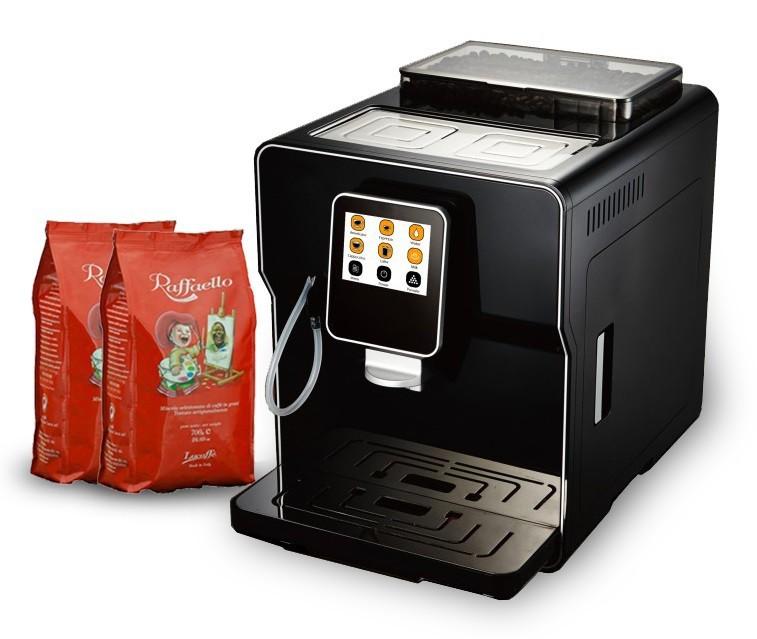 Páková espressa LUCAFFE Raffaello Latte Pro Black