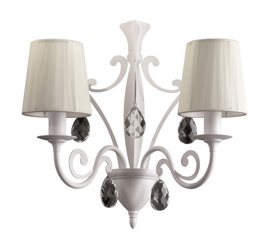 Palermo - Nástenné osvetlenie E 14, 41,9cm (biela)
