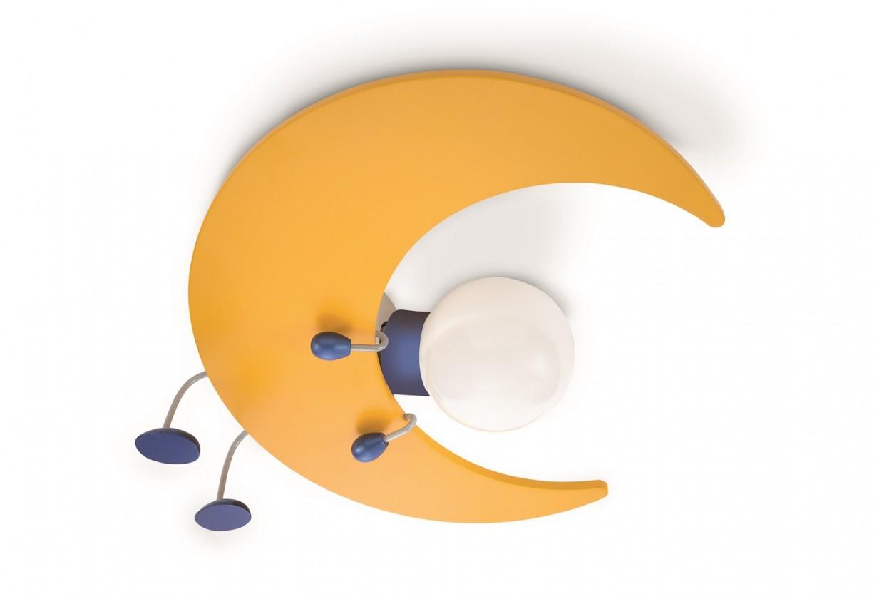 Palermo - Nástenné osvetlenie E 27, 32cm (žlutá)