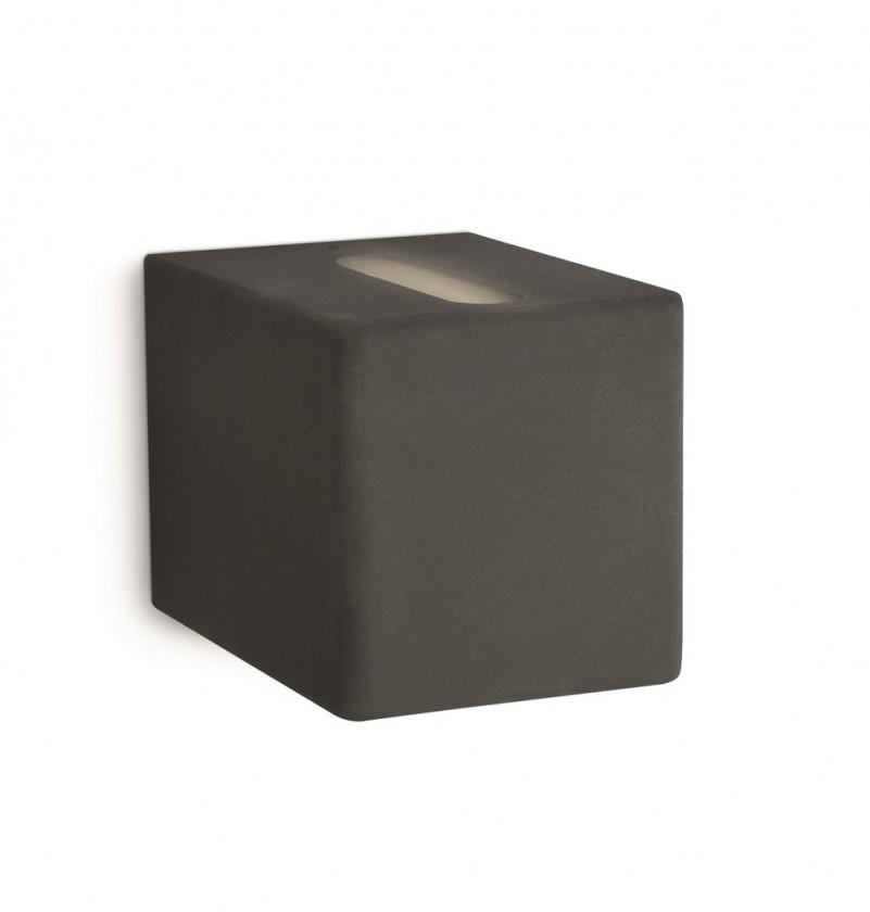 Palermo - Nástenné osvetlenie G9, 7,5cm (čierna)