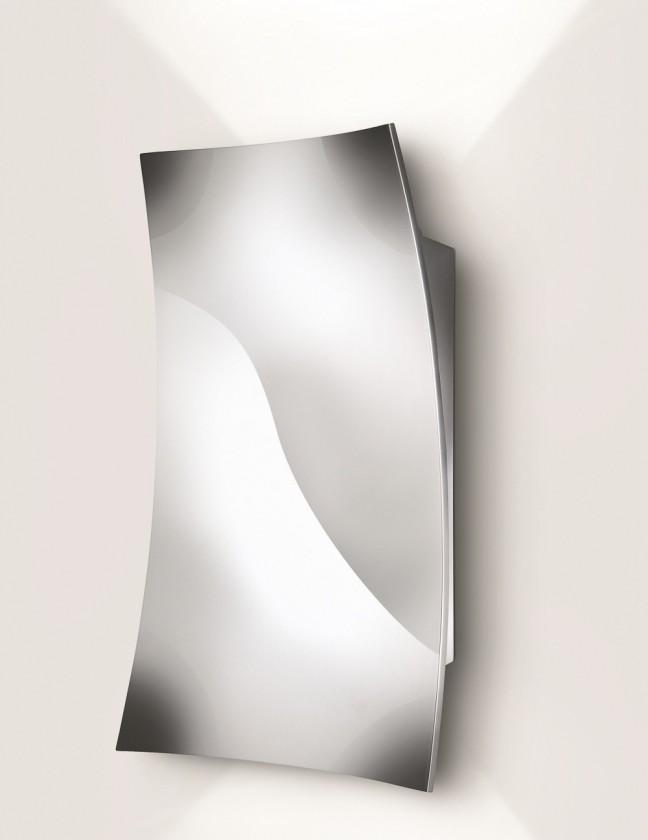 Palermo - Nástenné osvetlenie LED, 12,7cm (lesklý chrom)