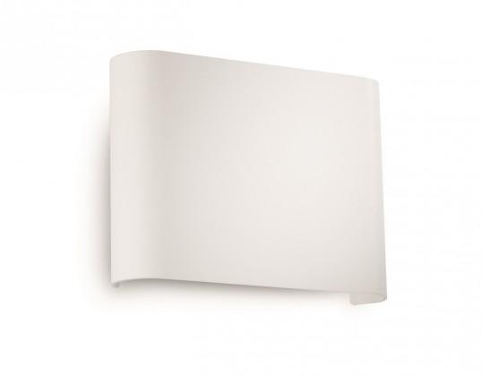 Palermo - Nástenné osvetlenie LED, 13,3cm (biela)