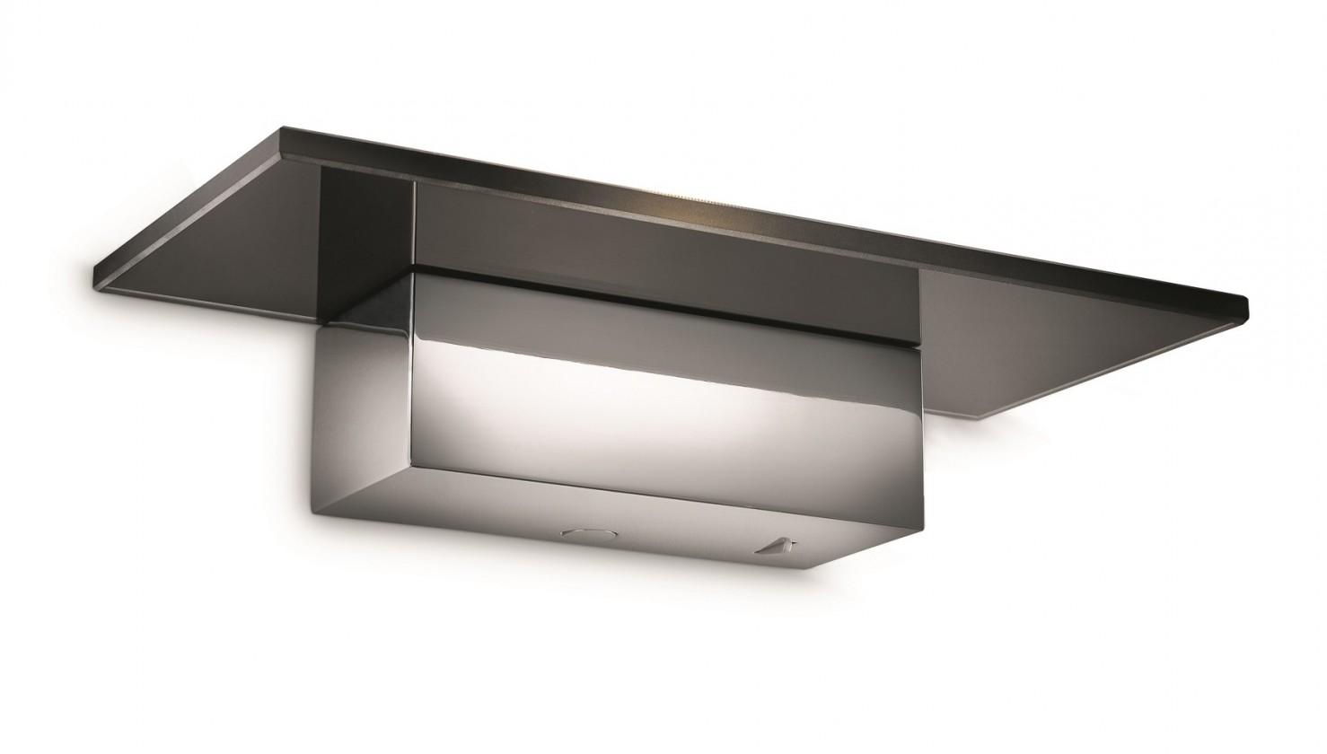 Palermo - Nástenné osvetlenie LED, 27cm (lesklý chrom)