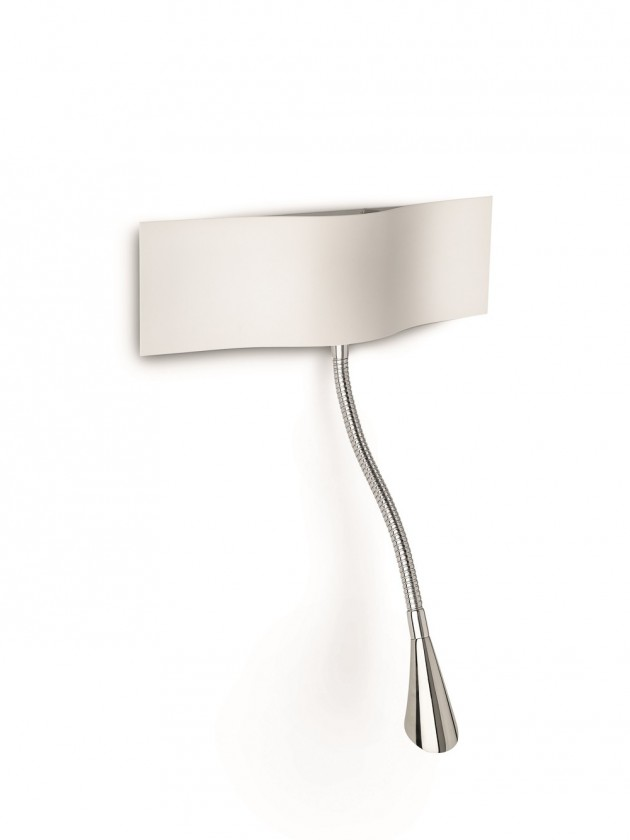 Palermo - Nástenné osvetlenie LED, 28,8cm (biela)