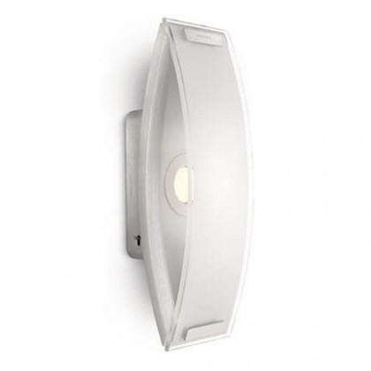 Palermo - Nástenné osvetlenie LED, 9,2cm (hliník)