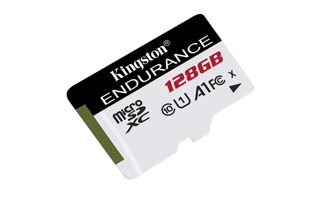 Pamäťové karty 128 GB 128GB microSDXC Kingston Endurance CL10 A1 95R/45W