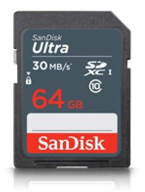 Pamäťové karty 64 GB SanDisk SDXC Ultra 64GB UHS-I (SDSDL-064G-G35)