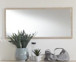 Pamela - Zrkadlo (dub,sklo,chrom)
