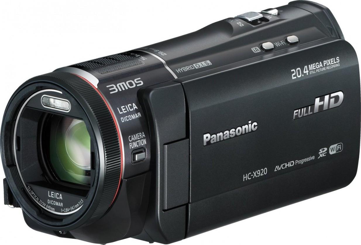 Panasonic HC-X920EP-K ROZBALENÉ