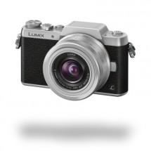 Panasonic Lumix DMC-GF7, čierno-strieborná