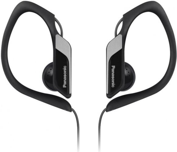Panasonic RP-HS34E-K, čierno-sivé