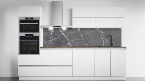 Panel do kuchyne 2,6 m (mramor čierny)