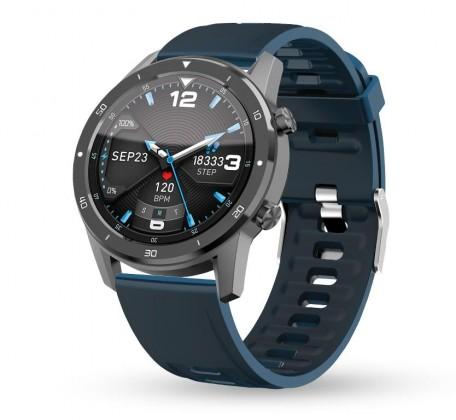 Pánske smart hodinky Smart hodinky Aligator Watch Pro, 3x remienok, šedá