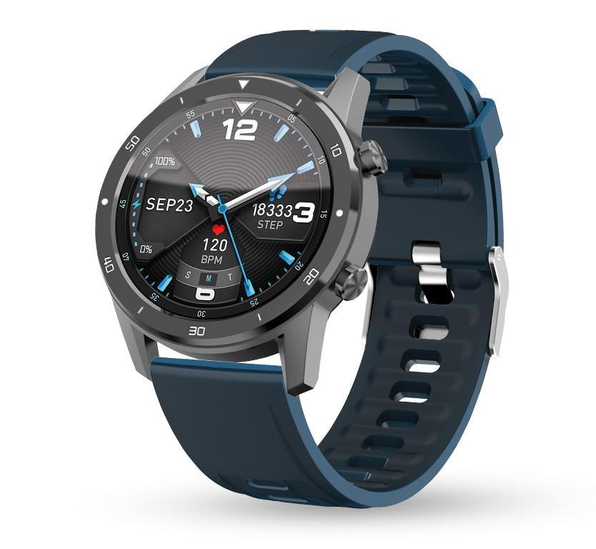 Pánske smart hodinky Smart hodinky Aligator Watch PRO, sivá +3 remienky v balení