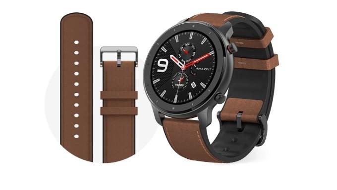 Pánske smart hodinky Smart hodinky Amazfit GTR 47mm, čierna