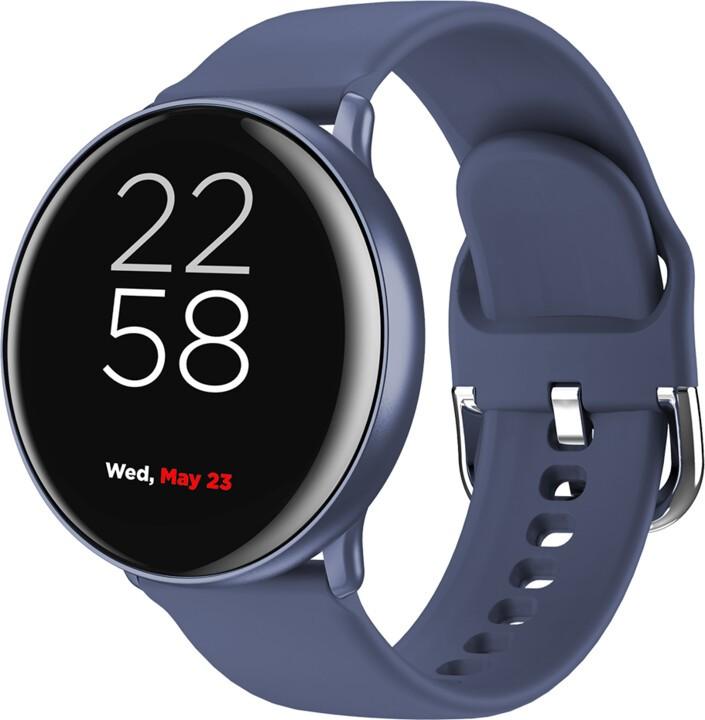 "Pánske smart hodinky Smart hodinky Canyon Marzipan 1,22"", 2 remienky, modrá"