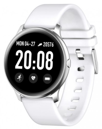 Pánske smart hodinky Smart hodinky Smartomat Roundband 2, biela