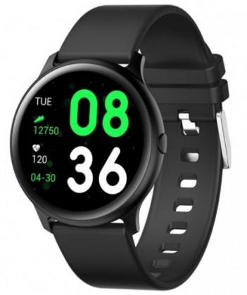 Pánske smart hodinky Smart hodinky Smartomat Roundband 2, čierna