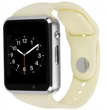 Pánske smart hodinky Smart hodinky Smartomat Squarz 1, biela