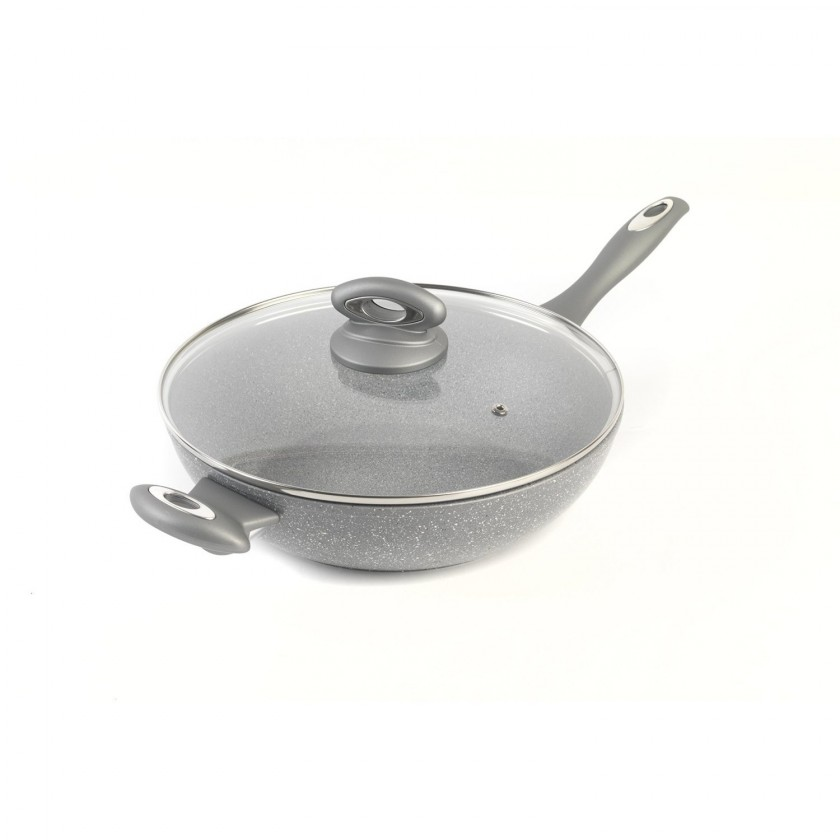 Panvice Salter Marble Collection 28cm WOK