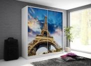 Paryž - Skriňa, 200/214/62 (biela/potlač)