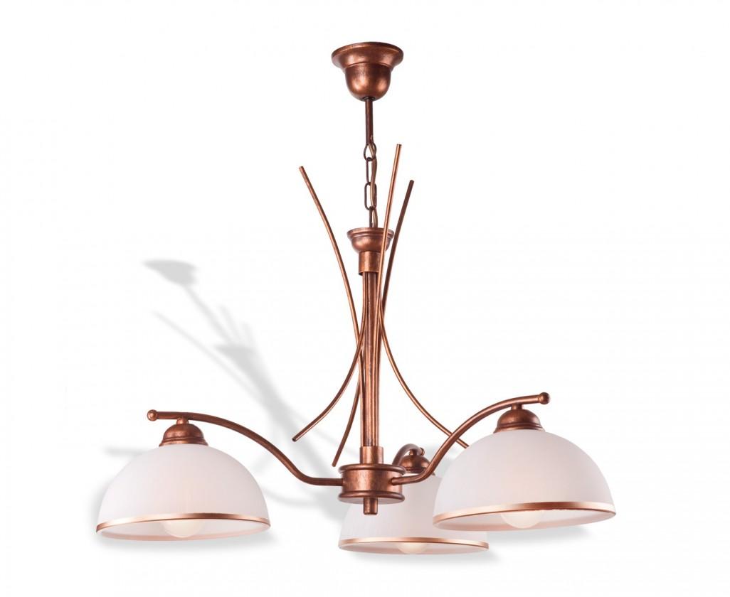Patrycja - Stropné osvetlenie, 56 cm (hnedá)