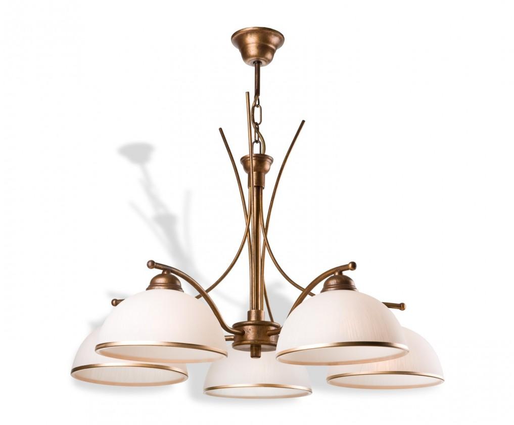 Patrycja - Stropné osvetlenie, 60 cm (hnedá)