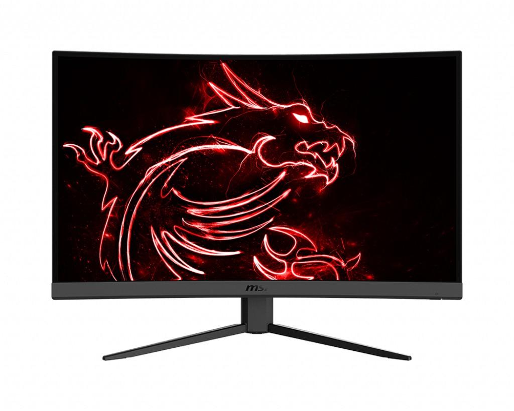 "PC doplnky, kancelár zlacnené Herný monitor MSI Optix G27C4 27"" zakřivený 1920x1080 (FHD)/ LED"