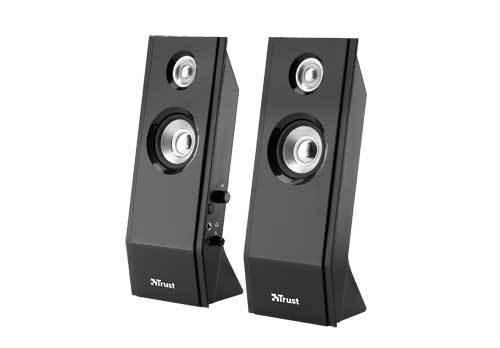 PC reproduktor  Trust Slimline Design Speaker Set - Black