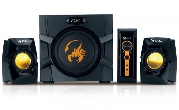 PC reproduktory Genius GX S W-G2.1 3000 ver.II, herné, 2.1, 80 W