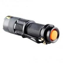 Peacock S600COB 3W XPE + 3W LED COB nabíjacie kovové svietidlo