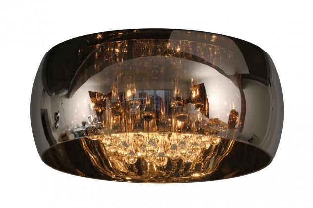 Pearl - stropné osvetlenie, 40W, 6xG9, 25 cm (čierna)
