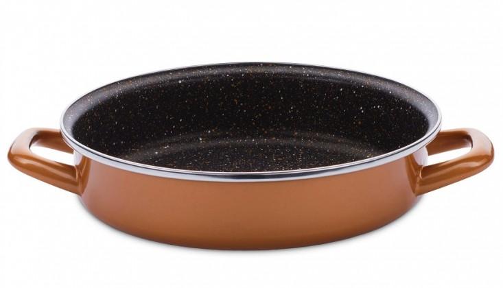 Pekáče Kulatý pekáč, 26 cm Delimano Stone Legend Copperlux