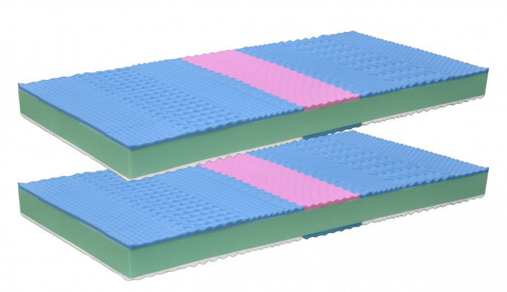 Penové Bona 2 - Matrace, zvýhodnené 2ks balenie (2x 200x90x16)