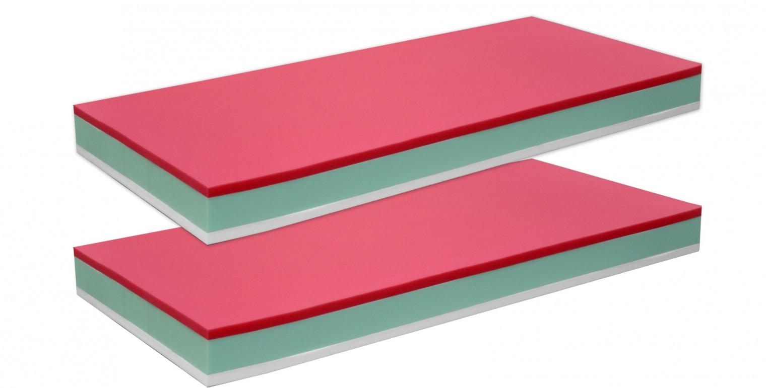 Penové Bona - Matrace, zvýhodnené 2ks balenie (2x 80x17x200)